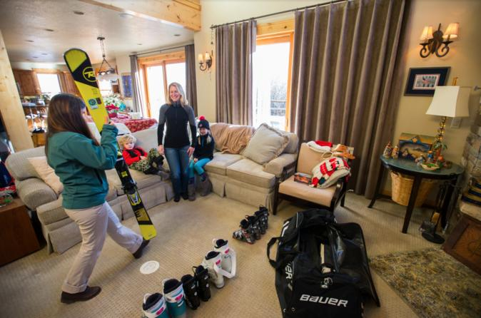 First Timer Snowboard Rental Package from Jackson Hole