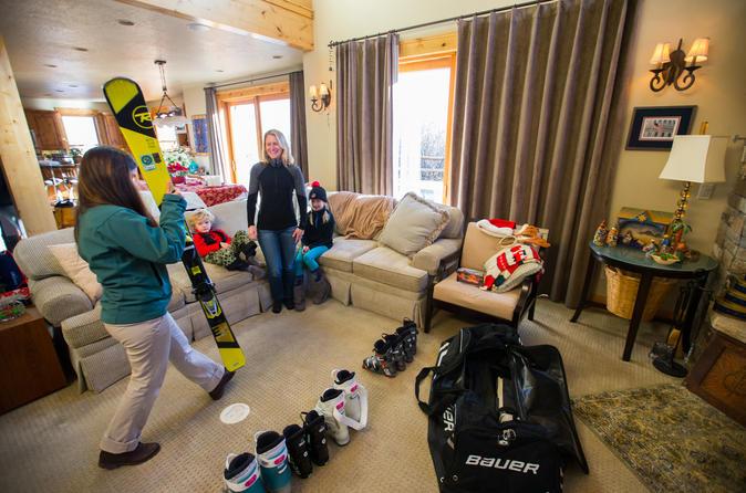 High Performance Ski Rental Package