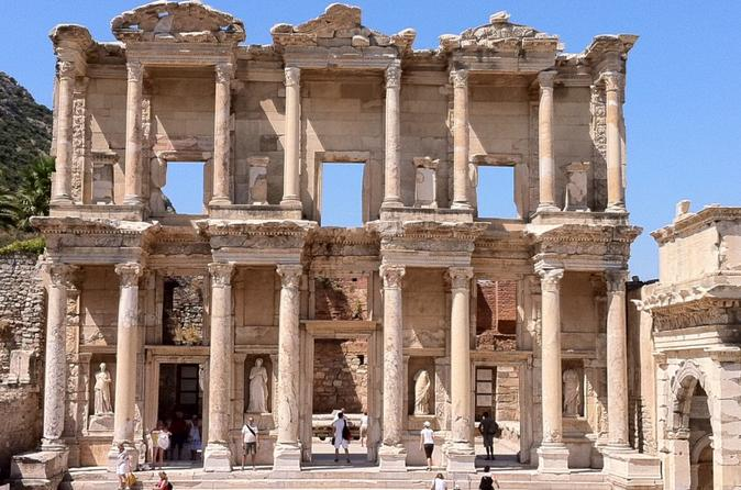 Day Tour of Ephesus Visiting The Virgin Mary House and The Ancient City From Istanbul