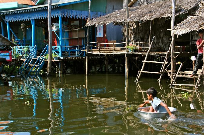 Kompong Phluk and Tonle Sap Lake Sunset Tour