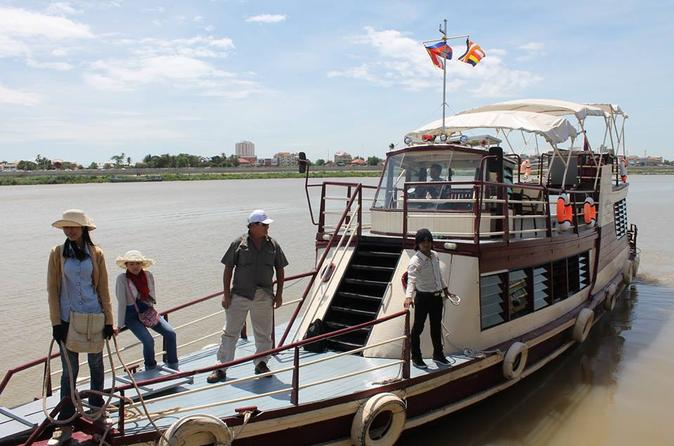 Phnom Penh to Siem Reap Private Full-Day Cruise Transfer""