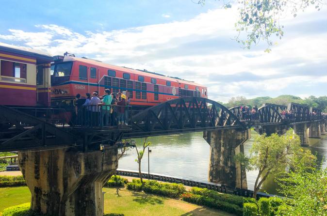 Kanchanaburi und der Fluss Kwai