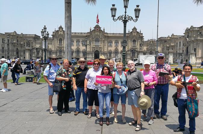 City Tour em Lima saindo do Porto de Callao