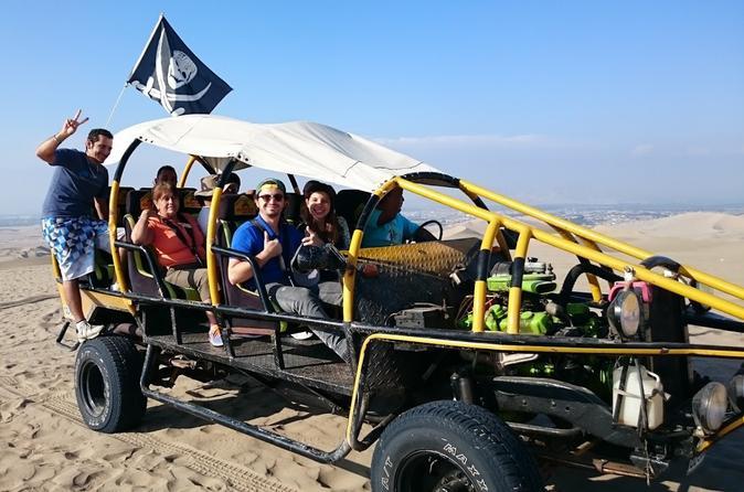 Ilhas Ballestas, Reserva de Paracas e Huacachina em um dia, saindo de Lima
