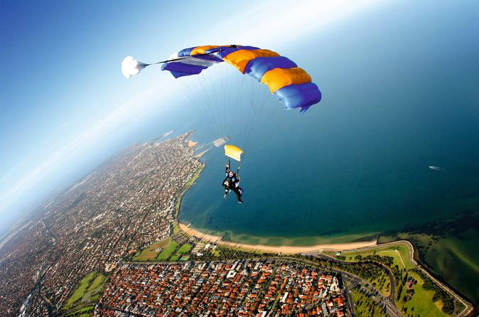 Melbourne Tandem Skydive on the Beach