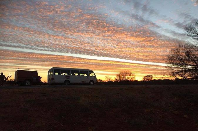 Bus Transfer: Alice Springs to Ayers Rock Resort