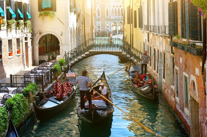 Afternoon Private Gondola Ride Tour - Venice