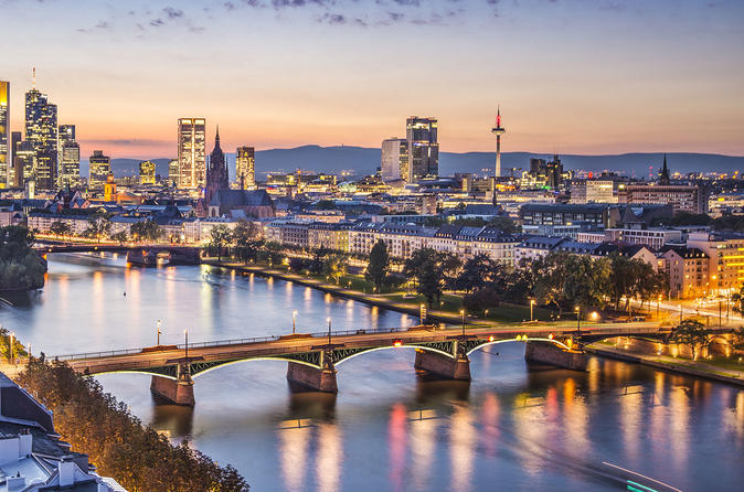 Frankfurt 4-8 hours Private Car with driver at disposal