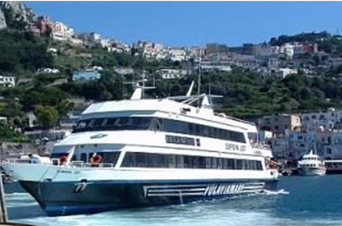 Private Transfer Naples to Capri Hotel