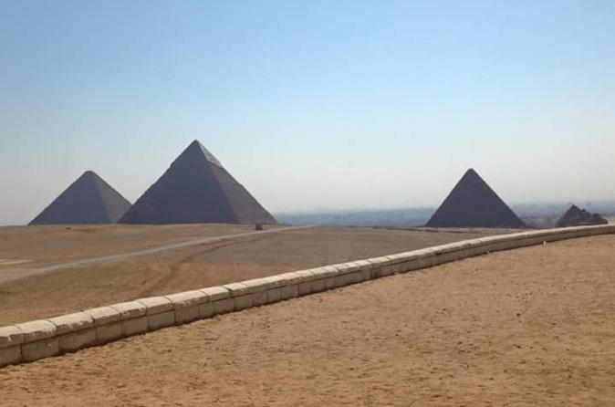 Half-Day Private Guided Tour to Giza Pyramids and Sphinx including Lunch from Cairo