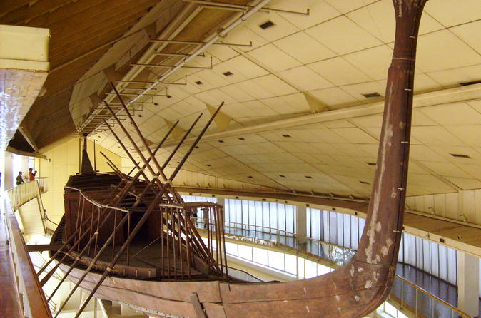 Half-Day Tour of the Giza Pyramids & Solar Boat museum with Lunch and Camel Ride