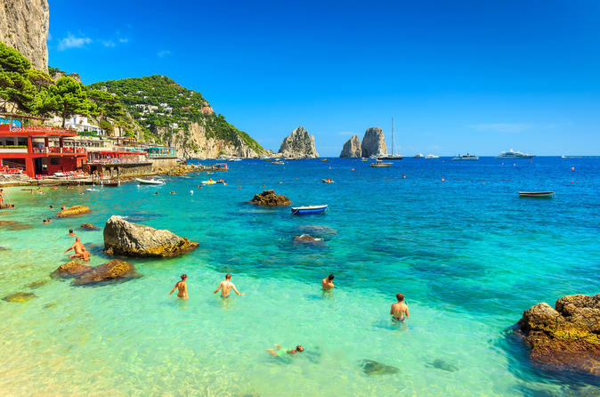 Capri Boat Experience - Small Group Tour - Naples