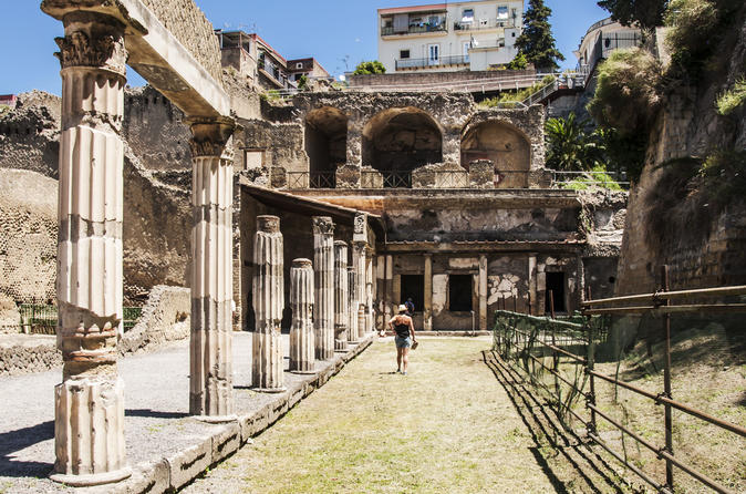 Herculaneum Group Tour from Naples