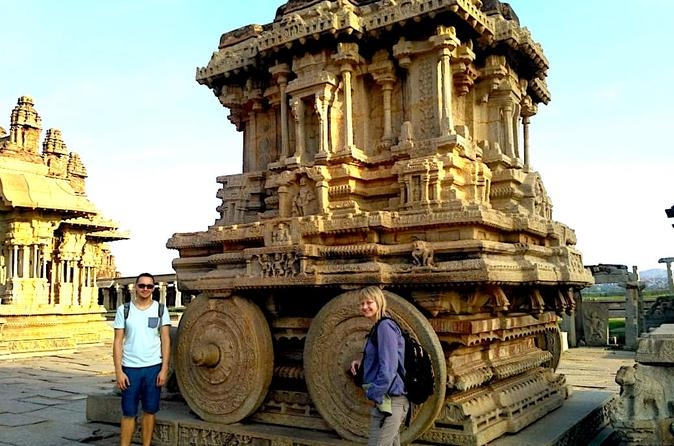 Private 2 day tour of Hampi from Bangalore
