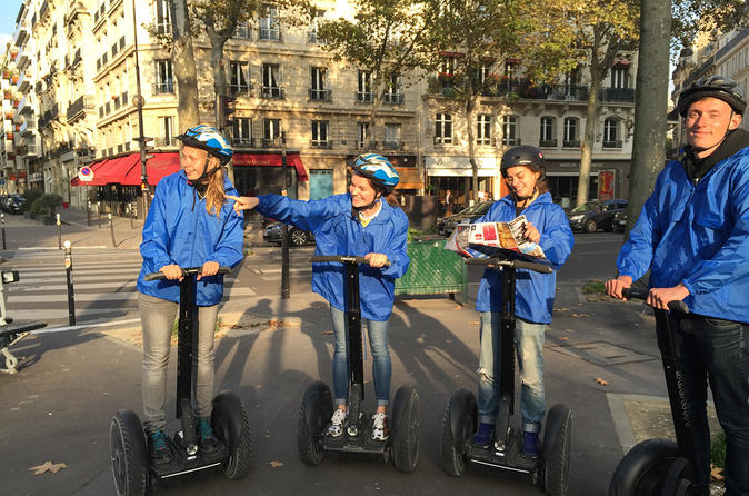Paris Evening Quest Game on Segway