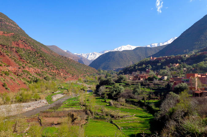 Full day private tour to the waterfall of ourika valley from marrakech in marrakesh 341867