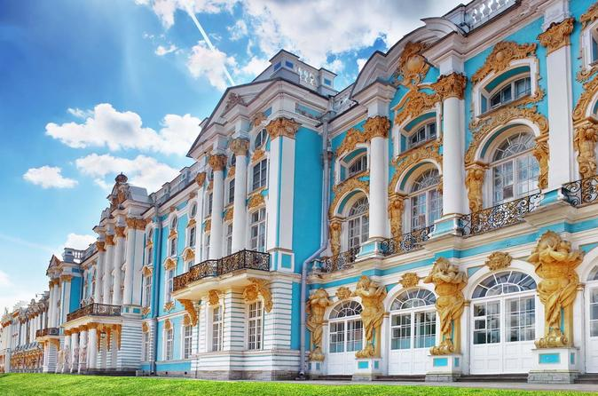 Half Day Excursion to Catherine Palace with Amber Room
