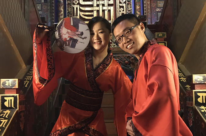 Authentic Hanfu Experience at Forbidden City and Summer Palace including Lunch and Afternoon Tea