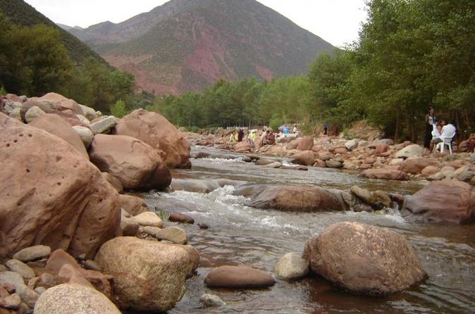 Private Day Trip from Marrakech: Ourika Valley, Berber House, Waterfall and Camel Experience