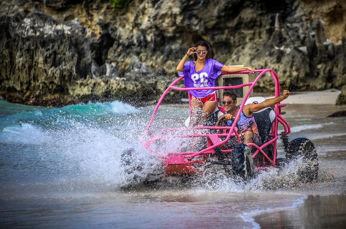 Pacote Discovery Punta Cana: Aventura de buggy nas dunas e catamarã