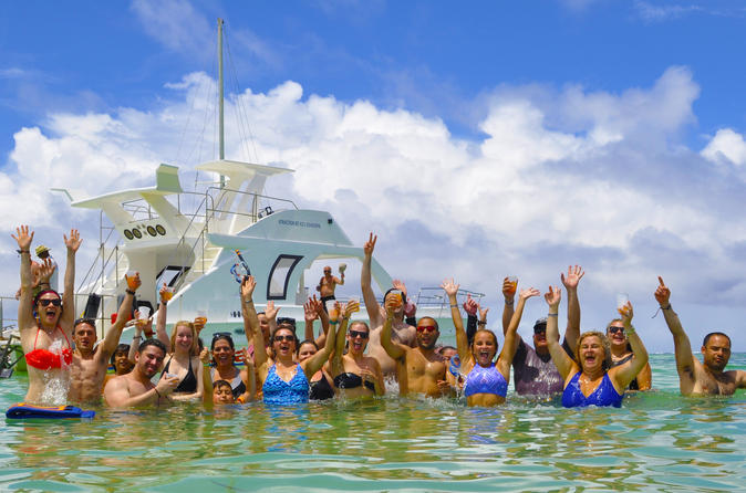 Water World Catamaran Package from Punta Cana