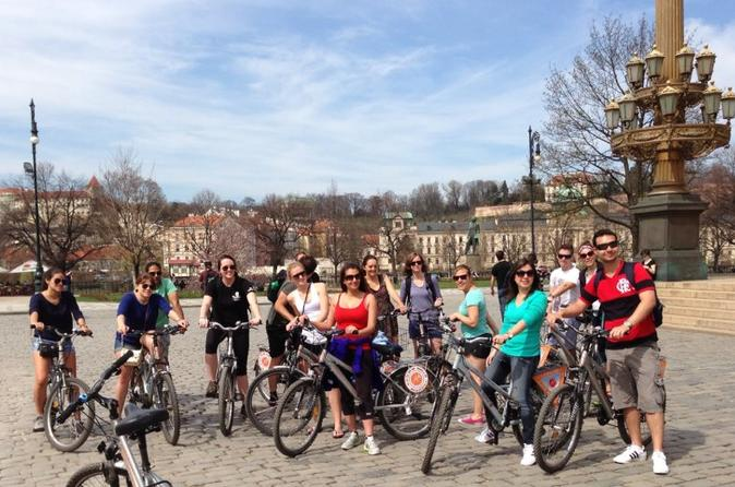 Prague City Bike Tour of New Town And Old Town (Afternoon Tour)