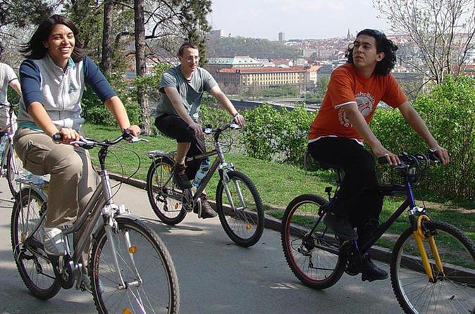 Prague Prague Panoramic City and Prague Castle Bike Tour in Czech Republic Europe