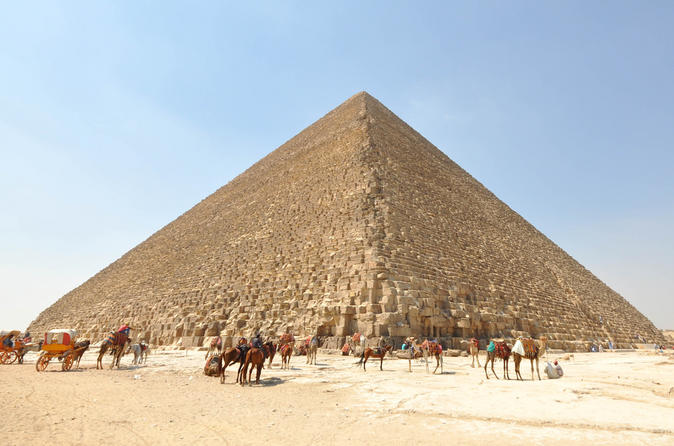 Private Tour To Giza Pyramids And Sphinx Including A Camel Ride - Cairo
