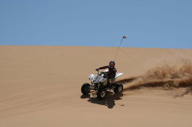 Quad bike adventure with guided tour to Giza pyramids including camel ride and lunch