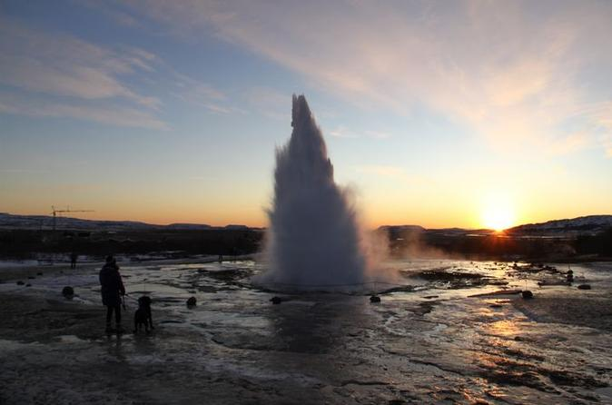 Day Trip to the Golden Circle and Hot spring Geyser by 4WD Jeep from Reykjavik