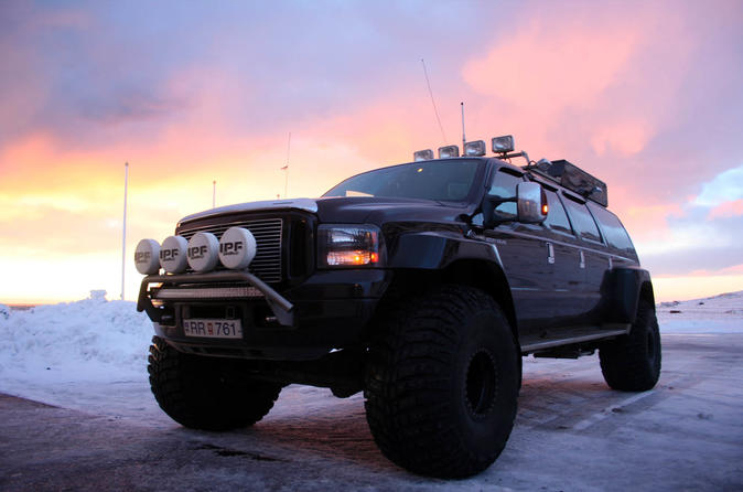 Eyjafjallajökull Volcano and Black Beaches of Iceland Experience in a Super Jeep from Reykjavik