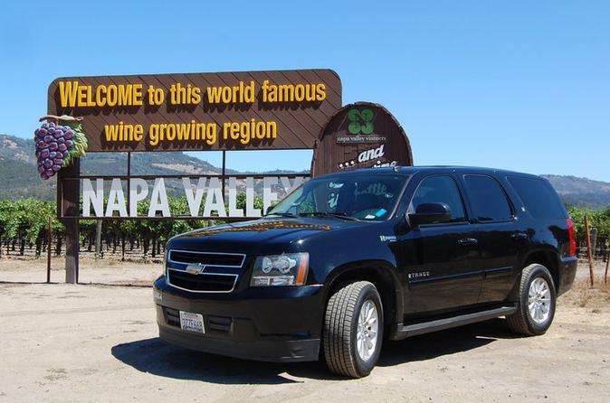 Private 6 Hour Napa Valley Wine Tour