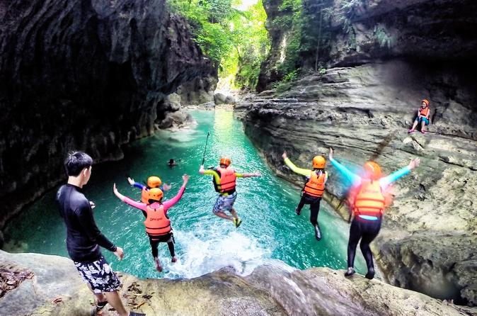 Kawasan Canyoneering with Round-Trip Transfer and Lunch""