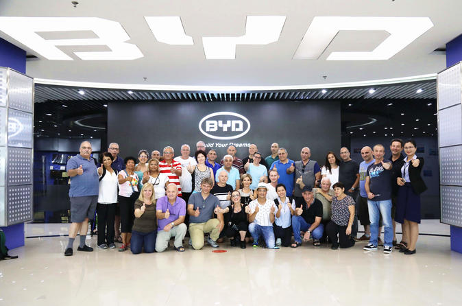 BYD Shenzhen Factory Tour With Pickup From Hong Kong