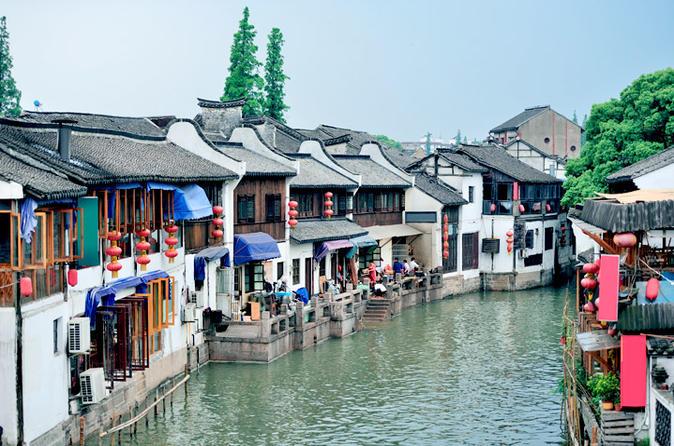 Coach Tour: Zhujiajiao Water Town Plus Huangpu River Cruise