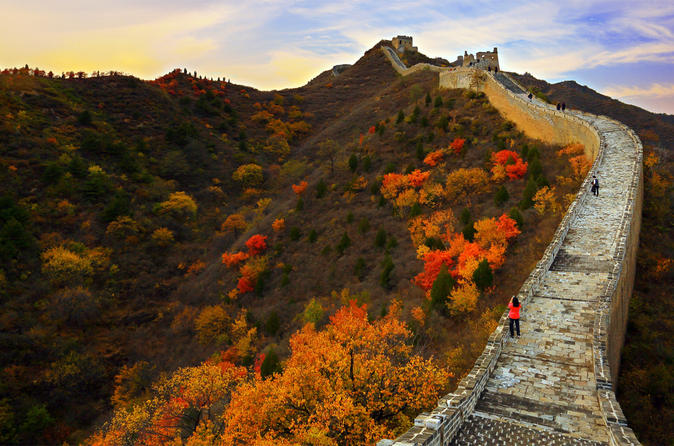 Group Coach Day Tour to Gubei Water Town and Simatai Great Wall