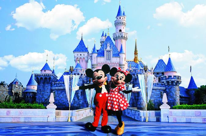 Hong Kong Disneyland Day Tour for Evening Departure Flight Travelers""