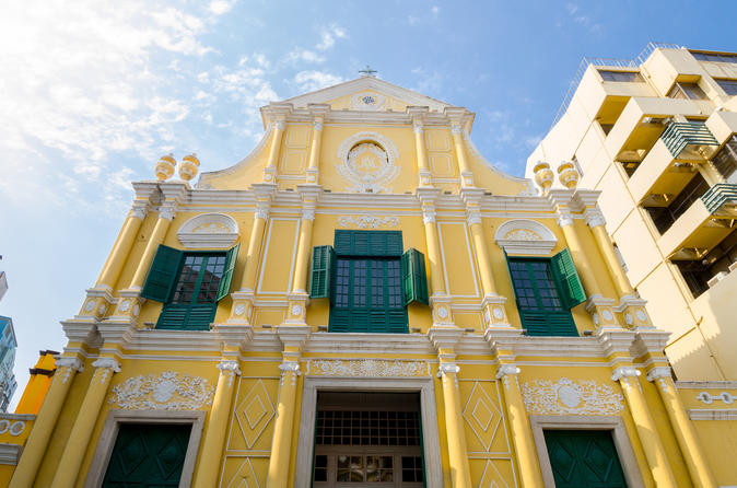 Macau Historic Heritage Sites Tour with round trip transfers from Hong Kong
