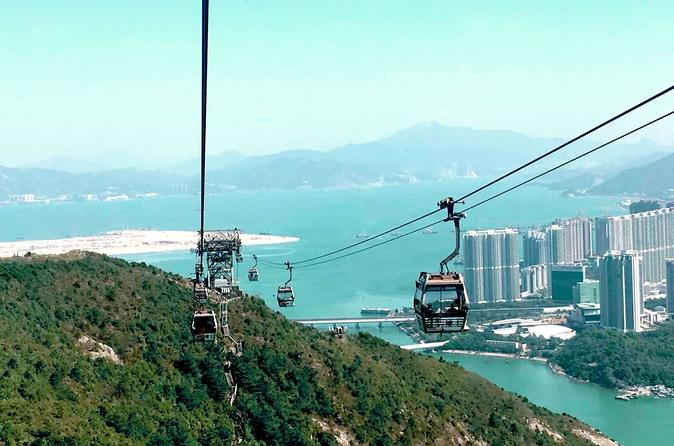 Private Tour: Lantau Island Crystal Cabin Cable Car and Tai O Village Boat Ride