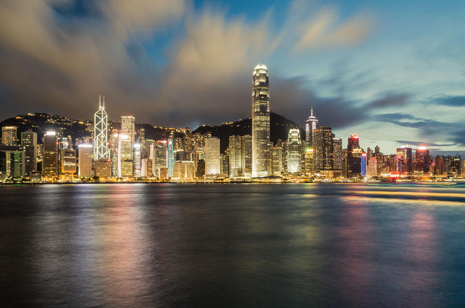 Semi Self-Guided Hong Kong Coach Tour With Dinner Cruise By Ferry Transfer From Shenzhen