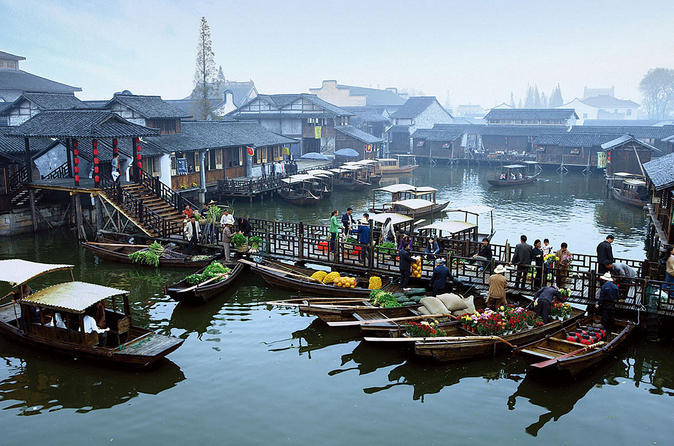 Wuzhen Water Town 2-Day Tour by Bullet Train from Shanghai