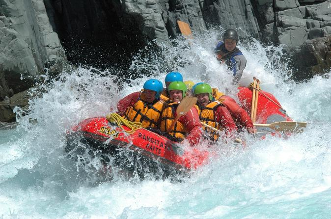 White Water Rafting from Christchurch