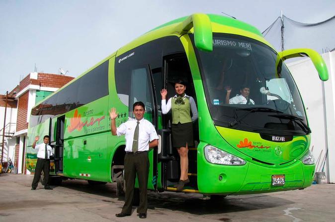 Excursão de ônibus guiada de Cusco para Puno ou vice-versa