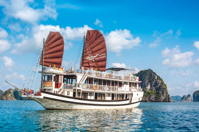 Overnight Halong Bay Cruise with Swan Cruises