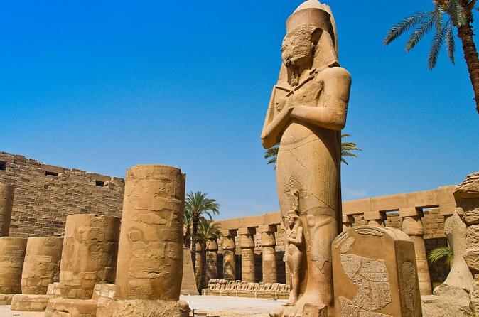 Full Day Tour in Luxor: Valley of the Kings, Hatshepsut Temple, Karnak and Luxor temples, Colossi of Memnon