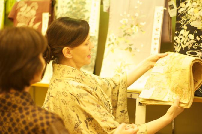Kimono Shopping Tour in Tokyo