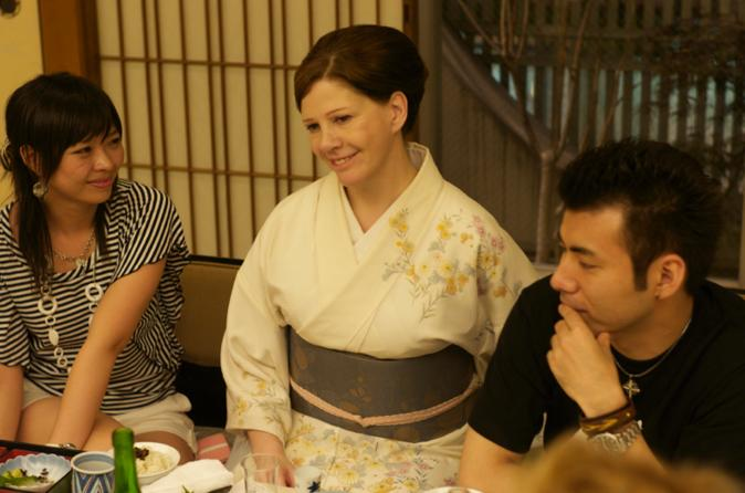 Private Lunch with Sayuki, the First Western Geisha