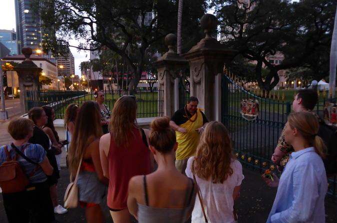 Path to Ho'okipa Historic Honolulu Walking Tour