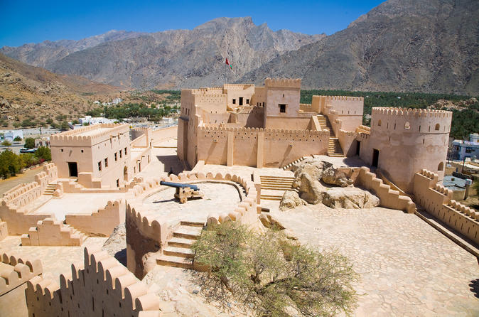 Nakhl and Hot Springs Private Tour from Muscat
