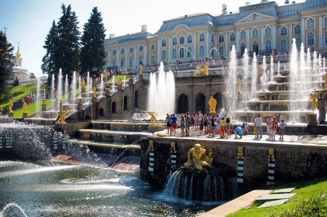 Peterhof Tour with Return by Hydrofoil from St. Petersburg